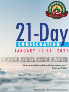 21 Day Consecration Booklet Cover