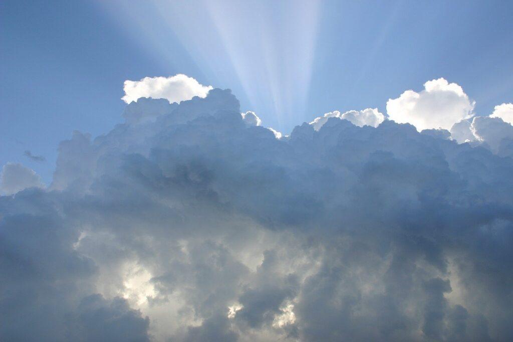 clouds, sky, atmosphere